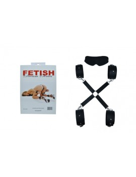 Cross Hand and Foot Clamp Set