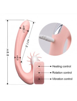 Clitoris Stimulation G-spot heating Adult Sex Toys For woman