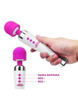 Super AV Rechargable Massager Vibrator
